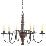 Harrison Americana Six-Arm Chandelier