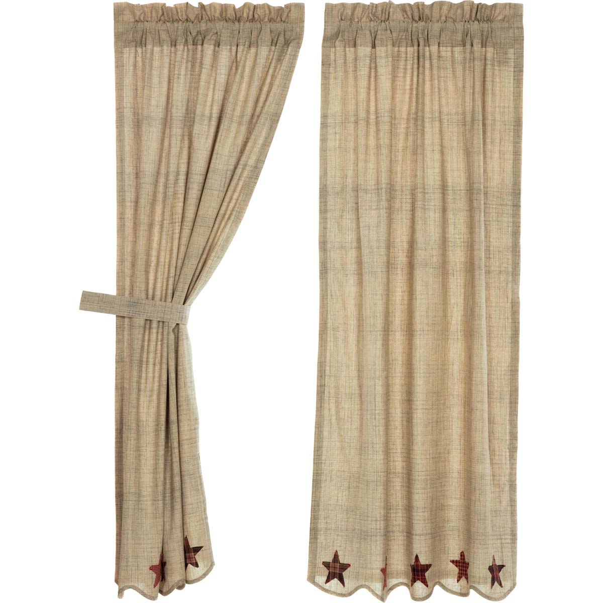 Abilene Star Curtain Collection