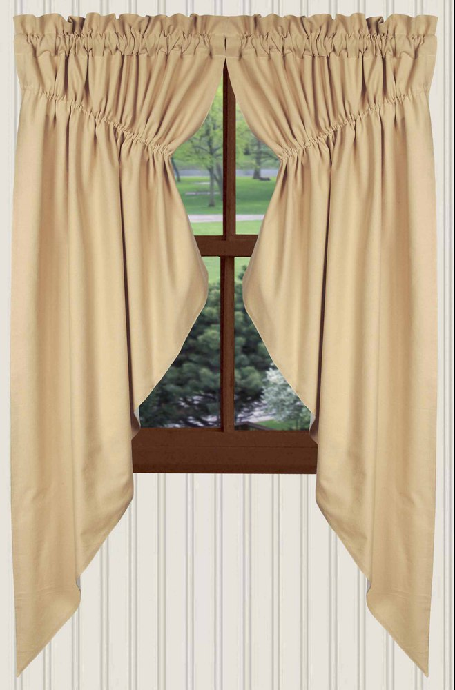 Farm House Nutmeg Curtain Collection