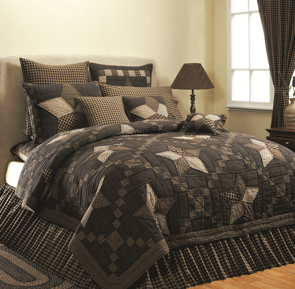Farmhouse Star Quilted Bedding