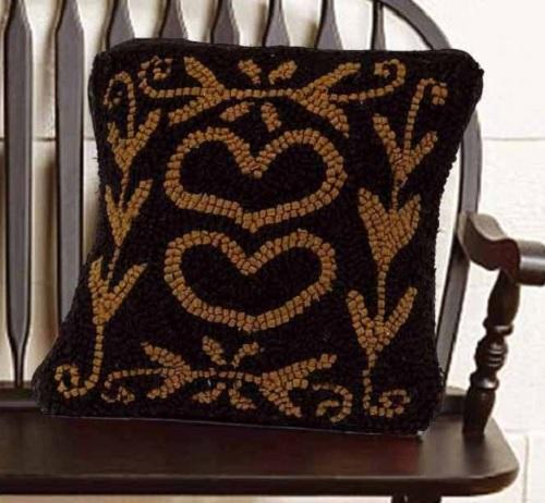 Colonial Heart Pillow