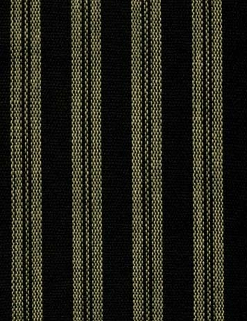 Kingston Stripe Black Prairie Curtain Final Sale