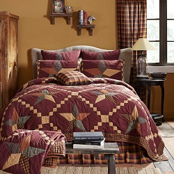 Folkways Star Quilted Bedding