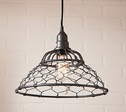 Loft Cage Pendant Light
