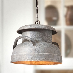 Milk Can Pendant Light