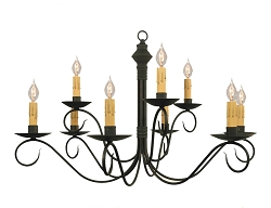 Adams Two-Tier Nine-Arm Chandelier