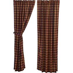 Primitive Check Curtain Collection