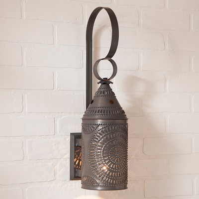 Electrified Chisel Wall Lantern