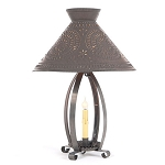 Betsy Ross Lamp with Chisel Design