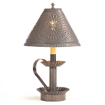 Plantation Candlestick Lamp