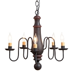 Norfolk Hartford Five-Arm Chandelier
