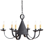 Pennycress Six-Arm Chandelier