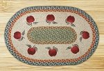 Apples Braided Rug