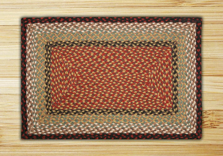 Rectangle Braided Rugs