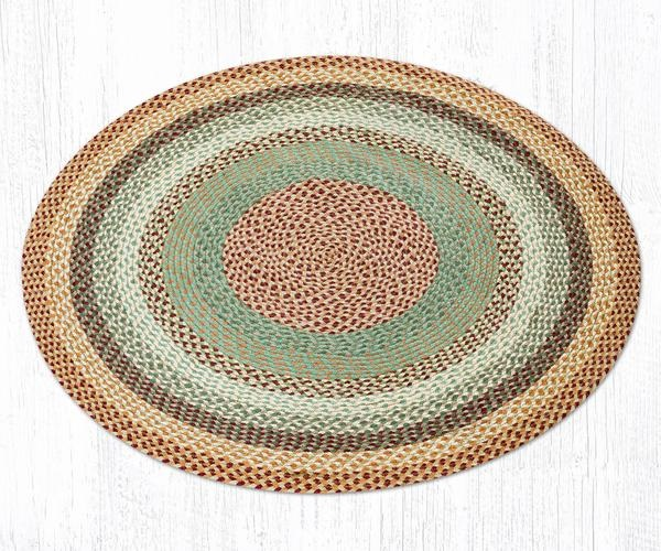 Round Braded Rug Collection Capitol Earth Rugs
