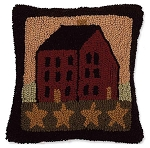 Saltbox House Pillow