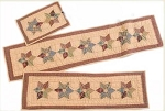 Tea Star Quilted Mat (Set of four)