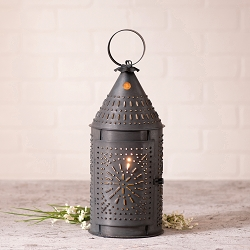 Revere Lantern with Chisel Design