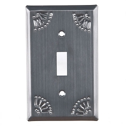 Chisel Design Country Tin Wall Plates
