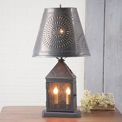 Harbor Lamp with Chisel Design