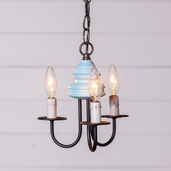 Bellview Rustic Three-Arm Chandelier