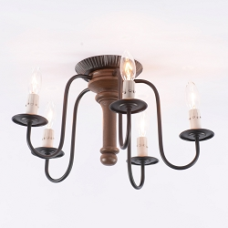 Berkshire Rustic Ceiling Light