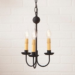 Small Westford Three-Arm Chandelier