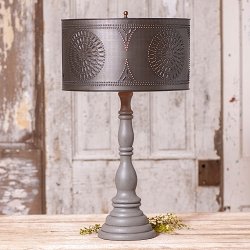 Davenport Rustic Lamp Base
