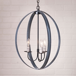 20 Inch Oval Sphere Chandelier