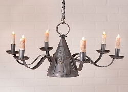 Millhouse Six-Arm Chandelier