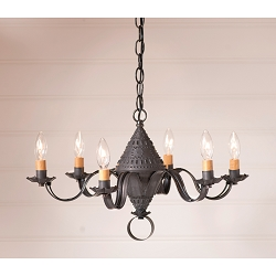 Small Concord Six-Arm Chandelier