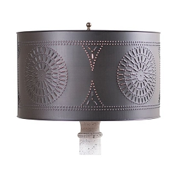 Drum Shade, Kettle Black