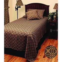 Marshfield Jacquard Black Bedding Collection