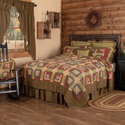Tea Cabin Quilted Bedding