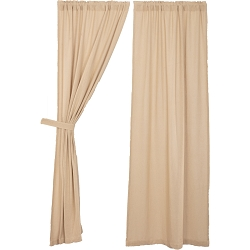 Burlap Vintage Curtain Collection