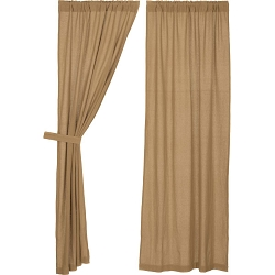 Burlap Natural Curtain Collection
