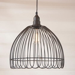 Petal Cage Pendant Light
