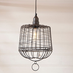Egg Basket Cage Pendant Light