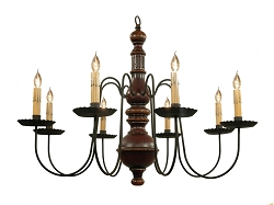 Hamilton Eight-Arm Chandelier