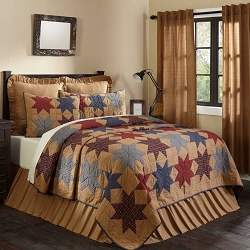 Kindred Star Quilted Bedding