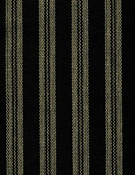 Kingston Stripe Black Prairie Curtain (final sale)