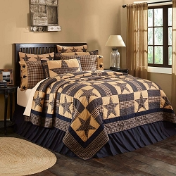 Teton Star Quilted Bedding
