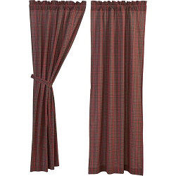 Tartan Plaid Curtain Collection
