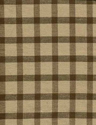 Windowpane Check Prairie Curtain (final sale)