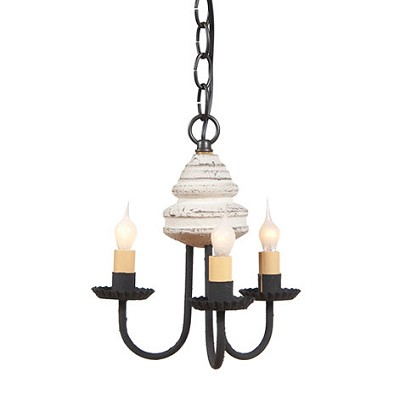 Bellview Americana Three-Arm Chandelier