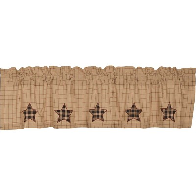 Bingham Star Applique Star Curtain Collection