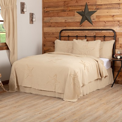Burlap Vintage Star Bedding