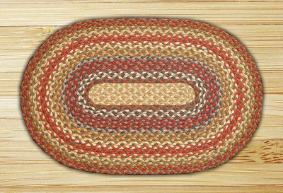 Honey/Vanilla/Ginger Braided Rug
