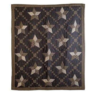 Farmhouse Star Quilted Throw
