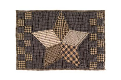 Farmhouse Star Quilted Placemat